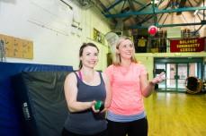 Partner juggling