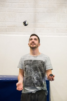 Solo ball juggling
