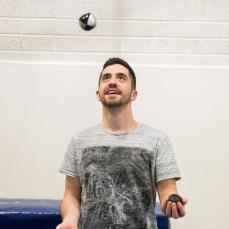 Solo ball juggling